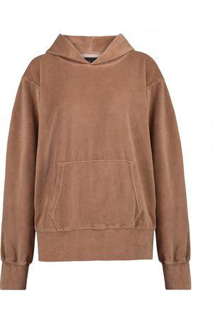 Les Tien Velour hoodie