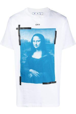 OFF-WHITE Mężczyzna Z krótkim rękawem - Mona Lisa graphic print T-shirt