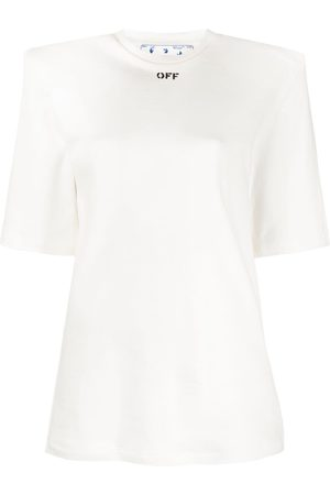 OFF-WHITE Kobieta Koszule - SHOULDER PADS T-SHIRT BLACK