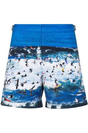 Orlebar Brown Mężczyzna Kąpielówki - Blue