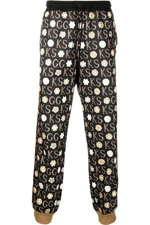 Gucci Mężczyzna Spodnie dresowe - Black