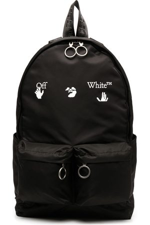OFF-WHITE OW LOGO BACKPACK WHITE
