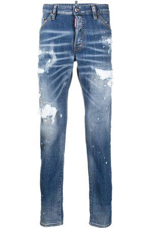 Dsquared2 Mężczyzna Rurki i Slim Fit - Blue