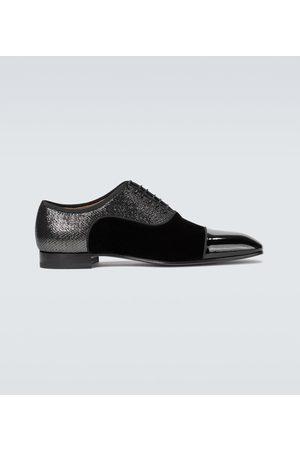 Christian Louboutin Mężczyzna Buty eleganckie - Greggo Orlato velvet derby shoes