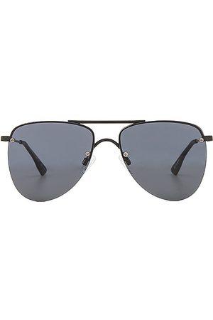 Le Specs Kobieta Okulary przeciwsłoneczne - The Prince in - Black. Size all.