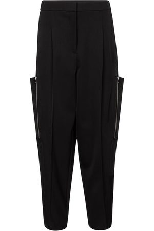 Stella McCartney Kobieta Bojówki - Liv high-rise wool cargo pants