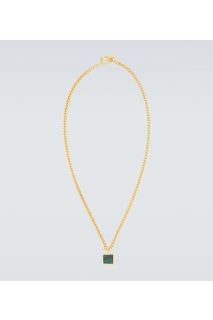 Orit Elhanati X Malachite short necklace