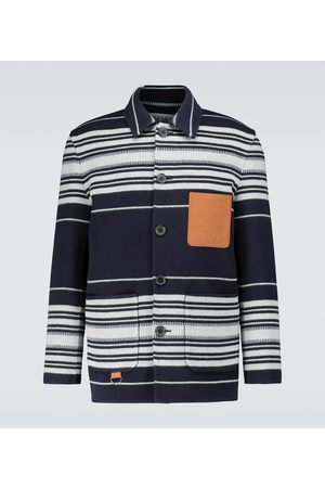 Loewe Striped workwear jacket
