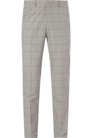 Selected Mężczyzna Spodnie eleganckie - Spodnie do garnituru o kroju slim fit z dodatkiem streczu model 'Logan'