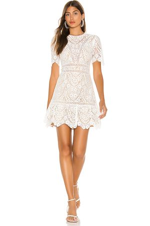 Saylor Darian Dress in - White. Size M (also in XS).