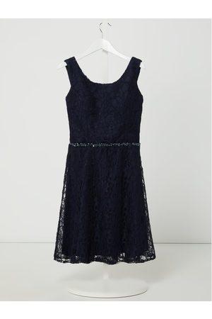 G.O.L. Sukienka z koronki z ozdobnymi perełkami
