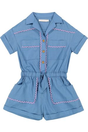 ZIMMERMANN Poppy cotton playsuit