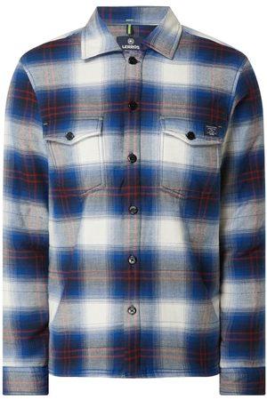 Lerros Mężczyzna Na co dzień - Koszula casualowa o kroju regular fit z mieszanki bawełny