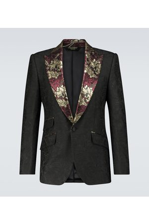 Dolce & Gabbana Exclusive to Mytheresa – jacquard single-breasted blazer