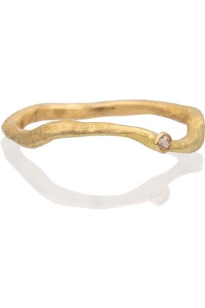 Orit Elhanati Solitaire 18kt gold ring with diamond