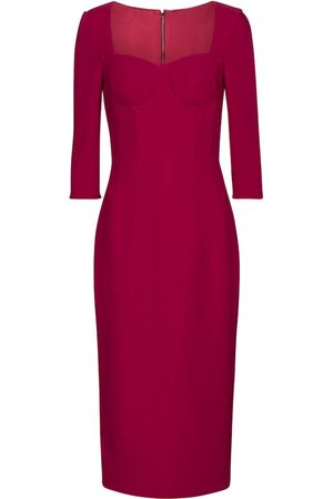 Dolce & Gabbana Exclusive to Mytheresa – Bustier crêpe sheath dress