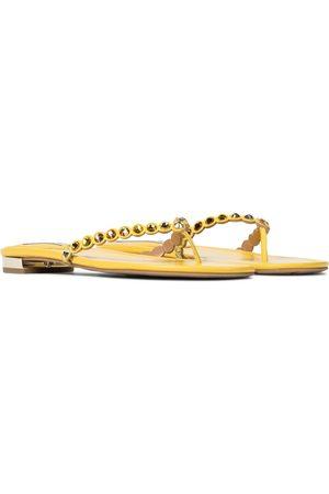 Aquazzura Exclusive to Mytheresa – Tequila embellished thong sandals