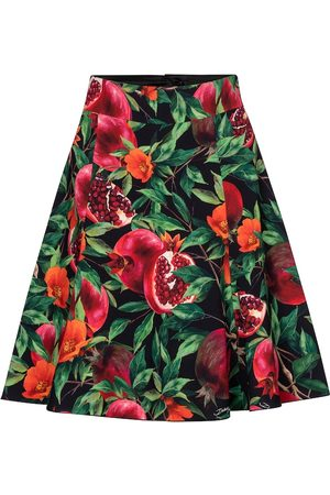 Dolce & Gabbana Exclusive to Mytheresa - Pomegranate-print midi skirt