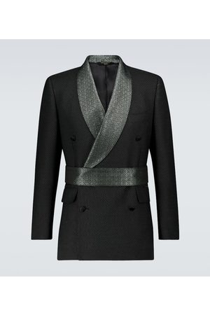 Dolce & Gabbana Exclusive to Mytheresa – jacquard belted blazer
