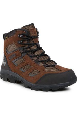Jack Wolfskin Mężczyzna Buty trekkingowe - Trekkingi - Vojo 3 Texapore Mid M 4042461 Brown/Phantom