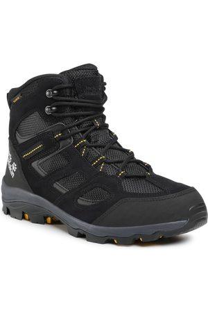 Jack Wolfskin Trekkingi - Vojo 3 Wt Texapore Mid M 4042461 Black/Burly Yellow XT