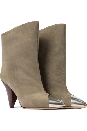 Isabel Marant Kobieta Botki - Lapee suede ankle boots