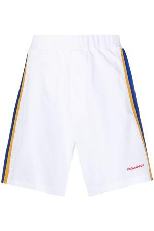 Dsquared2 Mężczyzna Szorty sportowe - White