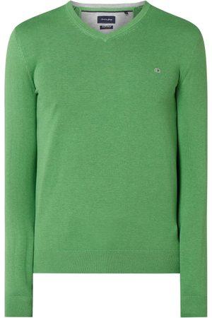 Christian Berg Sweter z bawełny Supima®
