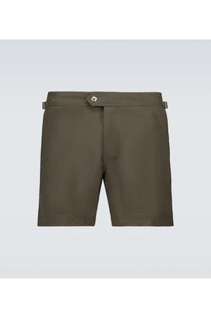 Tom Ford Mężczyzna Kąpielówki - Nylon swim shorts