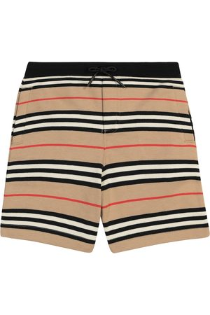 Burberry Icon Stripe cotton shorts