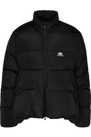 Balenciaga C-SHAPE puffer micro-faille jacket