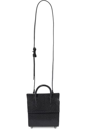 Christian Louboutin Paloma Mini snake-effect leather tote