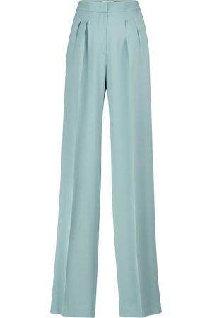 Max Mara Extra high-rise silk pants