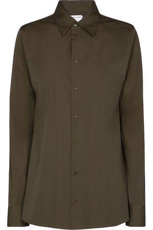 Bottega Veneta Stretch-cotton poplin shirt