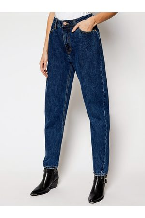 ONE TEASPOON Jeansy Relaxed Fit Crusarder 23668 Granatowy Relaxed Fit