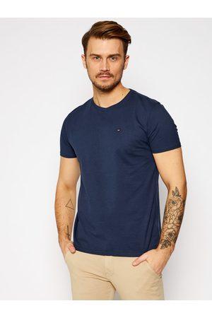 Tommy Hilfiger T-Shirt DM0DM04411 Granatowy Regular Fit