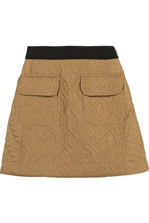 Burberry Monogram quilted skirt