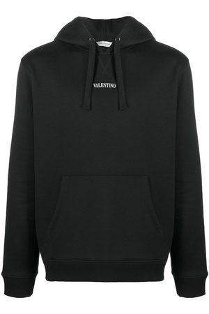 VALENTINO Mężczyzna Bluzy z kapturem - Black