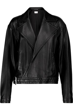 Saint Laurent Kobieta Ramoneska - Lamb leather jacket