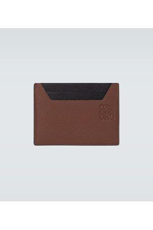 Loewe Grained leather cardholder
