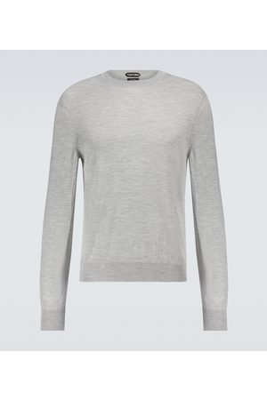 Tom Ford Swetry i Pulowery - Cashmere and silk-blend sweater