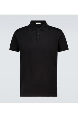 Saint Laurent Koszulki polo - Short-sleeved polo shirt