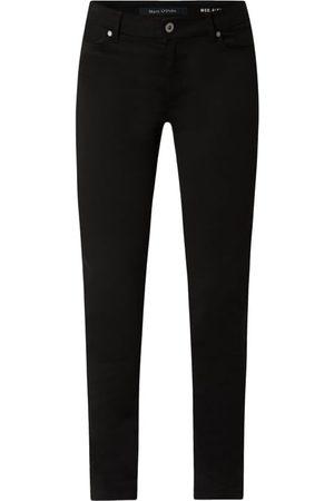 Marc O' Polo Spodnie o kroju slim fit z dodatkiem streczu model 'Alby'