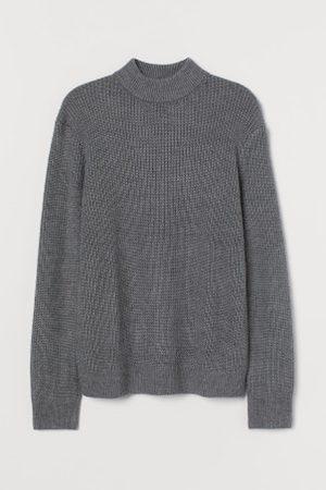 H&M Mężczyzna Golfy - Sweter z półgolfem
