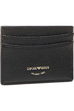 Emporio Armani Etui na karty kredytowe - Y3H013 YFW9B 80001 Nero