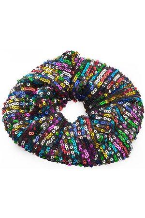 Awama Gumka do włosów z cekinami - kolorowa