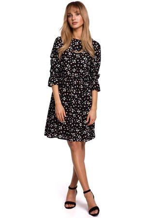 MOE Kobieta Sukienki z nadrukiem - Letnia sukienka w drobne kwiatki - model 8
