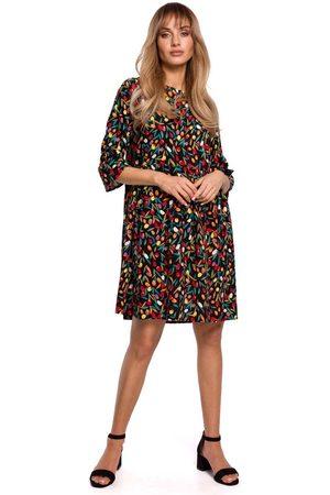 MOE Kobieta Sukienki z nadrukiem - Letnia sukienka w drobne kwiatki - model 6