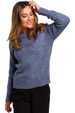 MOE Kobieta Swetry i Pulowery - Klasyczny ciepły sweter