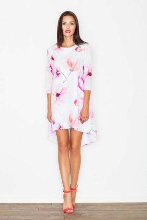 Figl Sukienka asymetryczna w odcieniach różu